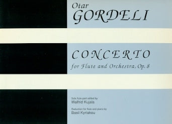 Flute Concerto for Flute and Orchestra, Op. 8
