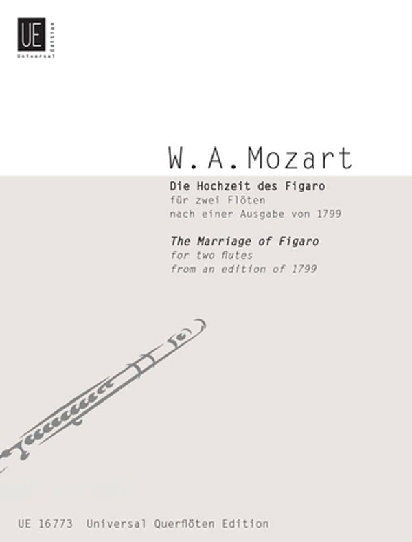 Marriage Of Figaro (Two Flutes)