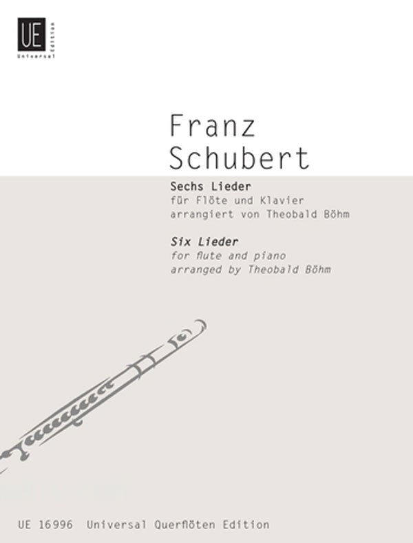 Six Lieder (Flute and Piano)