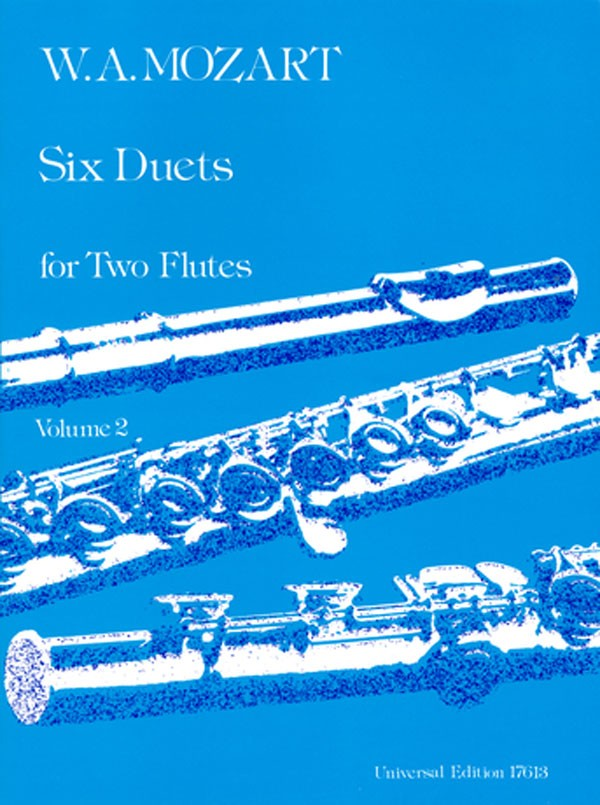6 Duets for 2 Flutes Vol.2