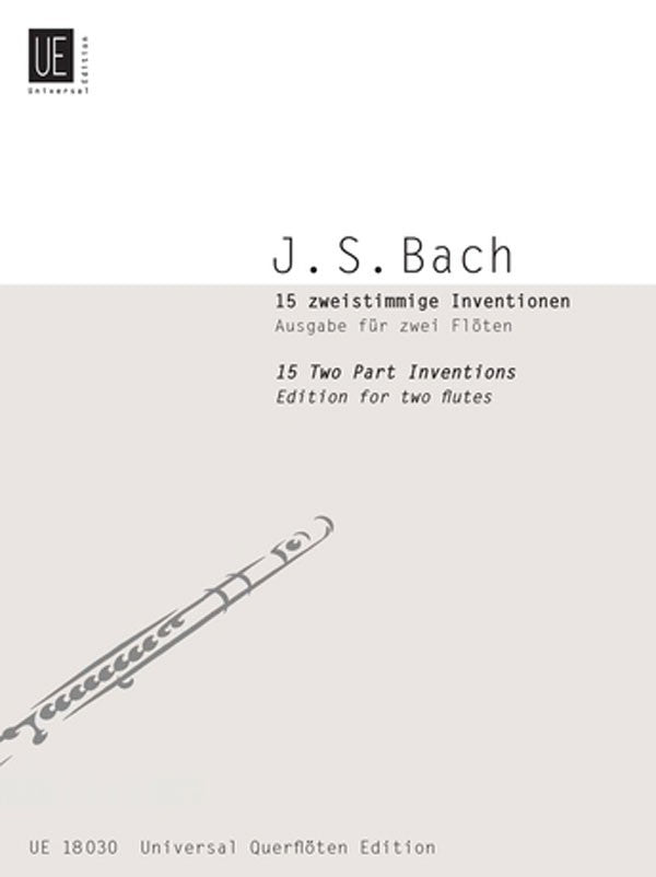 15 Two-Part Inventions (2 Flutes)