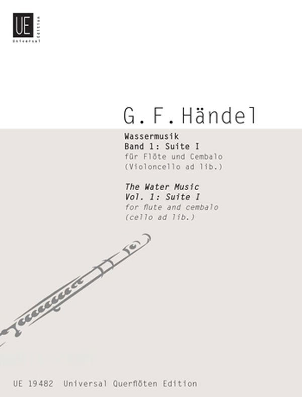 Water Music, Suite 1 (Flute and Piano)