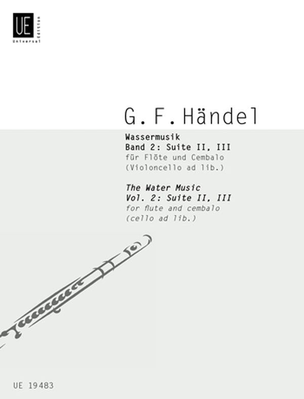Water Music, Suites 2 & 3 (Flute and Piano)