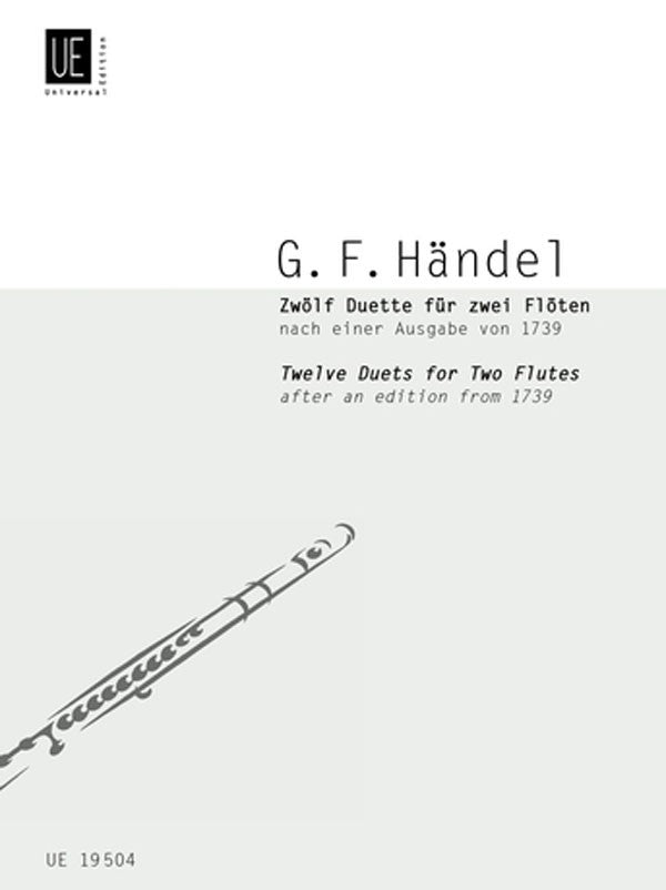 12 Duets for 2 Flutes