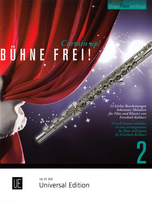 Curtain Up! Vol.2 (Flute and Piano)