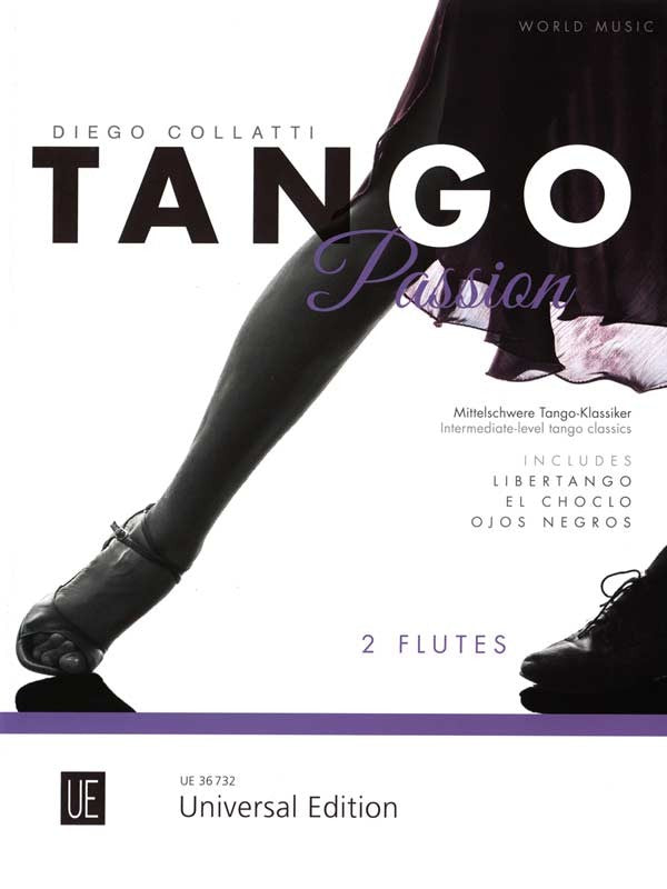 Tango Passion (Two Flutes)
