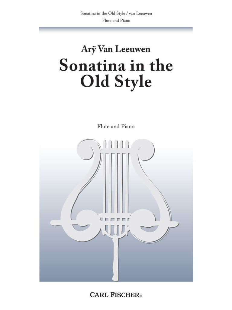 Sonatina in the Old Style (Three Flutes)