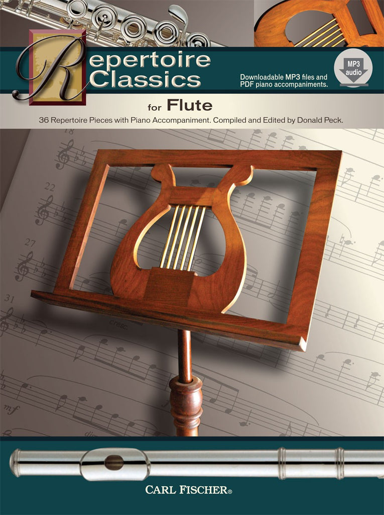 Repertoire Classics for Flute (Flute and Piano)