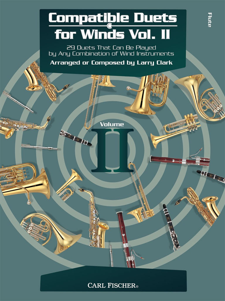 Compatible Duets for Winds, Volume 2