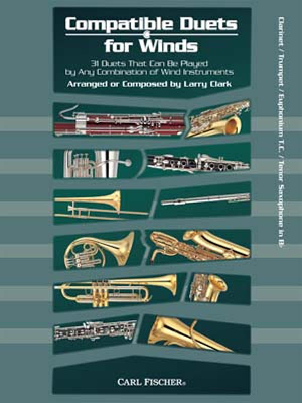 Compatible Duets for Winds, Volume 1