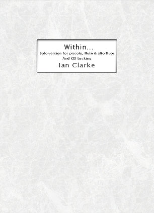 Within... (Flute Alone with Background CD)