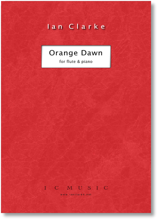Orange Dawn (Flute and Piano)