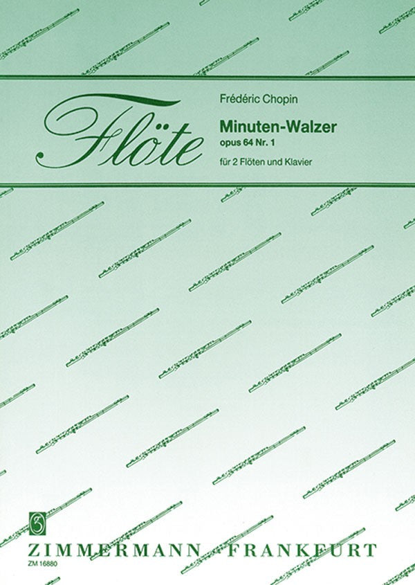 Minute Waltz op. 64/1 (Two Flutes and Piano)