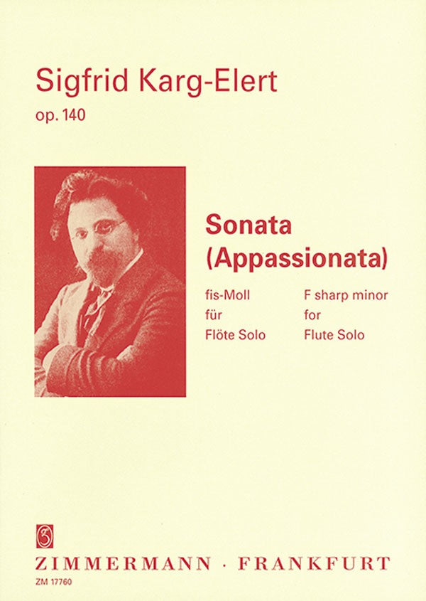 Sonata (Appassionata) in F-sharp minor, op. 140 (Flute Alone)