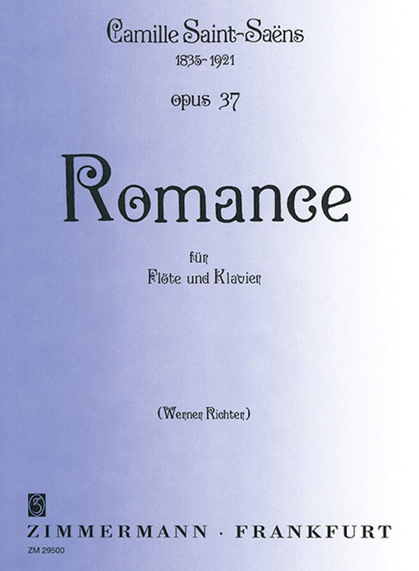Romance, Op. 37 (Flute and Piano)