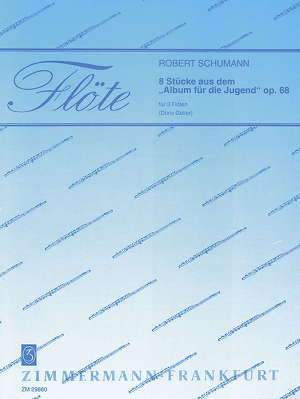 "8 Pieces from the ""Album for the Youth"" Op. 68 (Three Flutes)"