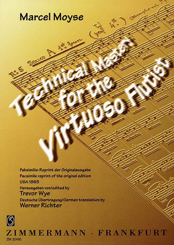 Technical Mastery of the virtuoso Flutist