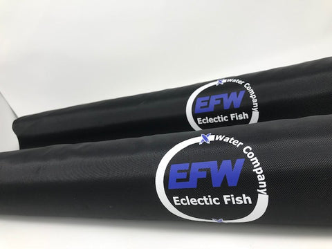 Eclectic Fish 28 inch Crossbar Rack Pads Pair  -Black