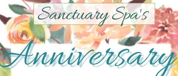 Sanctuary Spa's 10th Anniversary Sale