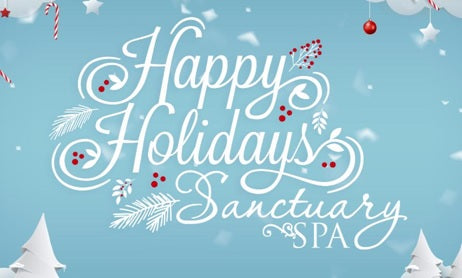 Sanctuary Spa's Annual Holiday Sale is here!!