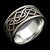 WOVEN HEARTS Band - Sterling $149 14KT $999 - Celtic Jewelscapes