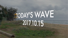 TODAY'S WAVE -15th OCT 2017- AWSM SURF