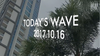 TODAY'S WAVE -16th OCT 2017- AWSM SURF