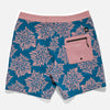 BANKS BOARD SHORTS DAISY CHAIN GLACIER BLUE