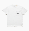 TCSS SCRIPT POCKET TEE OFF WHITE