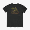 BANKS GREENERY FADED TEES DIRTY BLACK