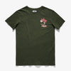 BANKS TRADE WINDS FADED TEES GREEN MIRINE