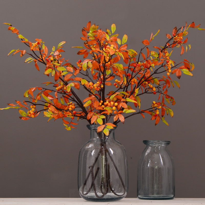 Fall Leaves with Berries - 40""