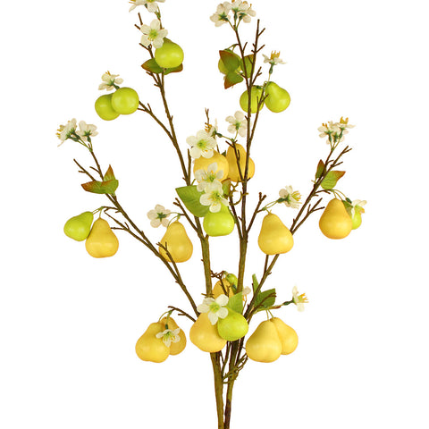 Pears Branch with Blossoms - 39""