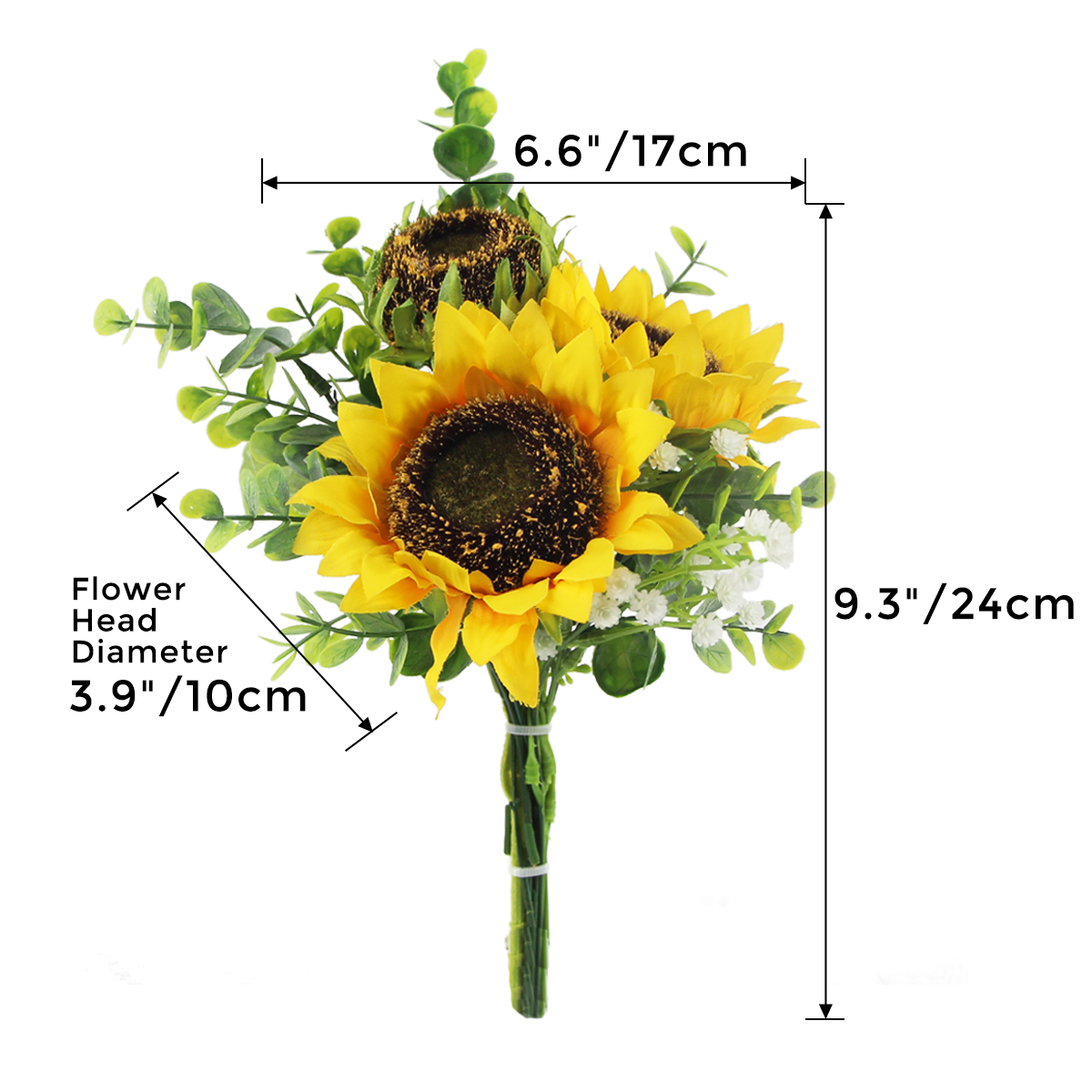 Sunflower Picks - 9.3""