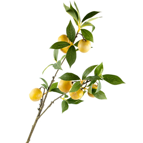 "Plum Branch - 35"" - Yellow"