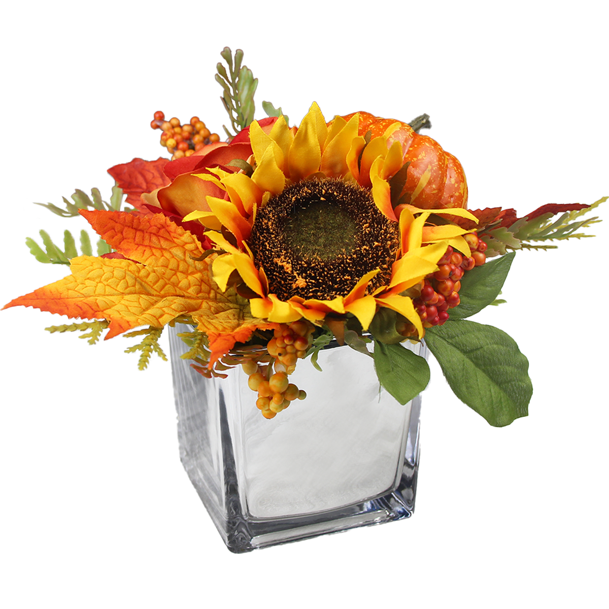 Fall Pumpkin Centerpiece