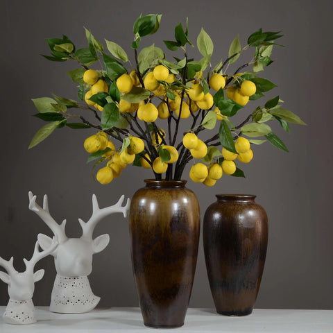 Artificial Pear,Artificial Plants and Trees for Decor.(1 piece)