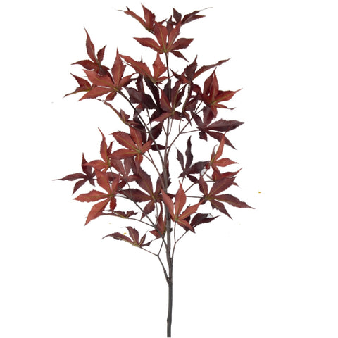 "Maple Leaves - 37"" - Flame Red"