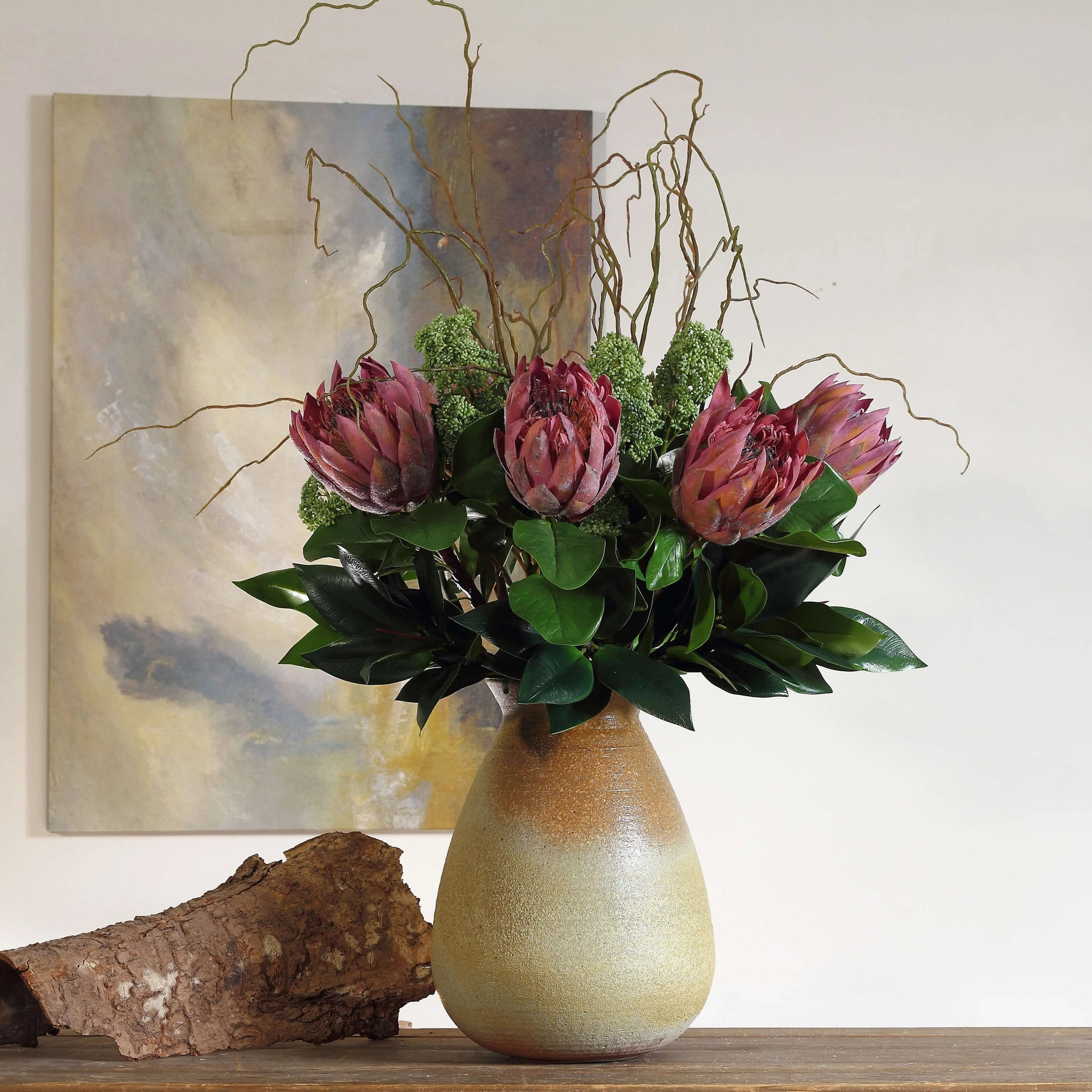 African Protea Dusty Pink - 27""