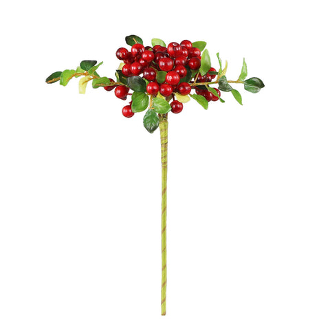 Red Berry Twig - 13""