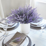 Flocked Lavender - Purple