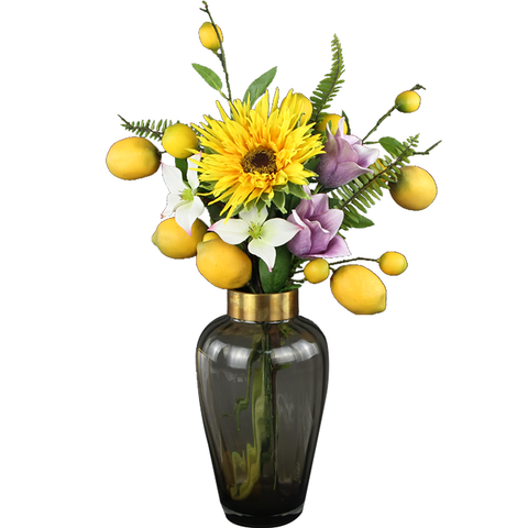 Lemon & Sunflower Bouquet