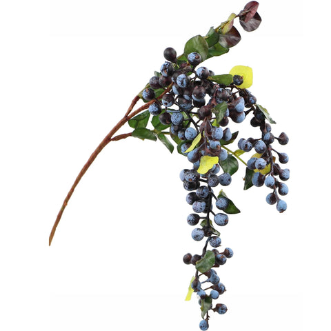 Blue Hanging Berry - 22""