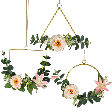 Blush Hoop Wreath