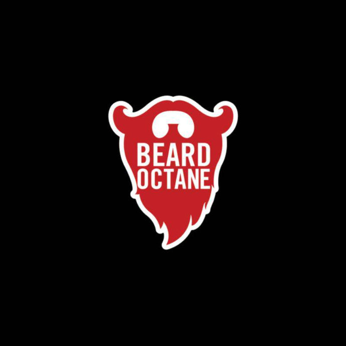 BEARD OCTANE BEARD STICKER - Beard Octane