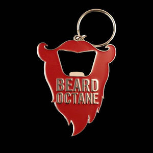 BEARD OCTANE BOTTLE OPENER KEYCHAIN - Beard Octane