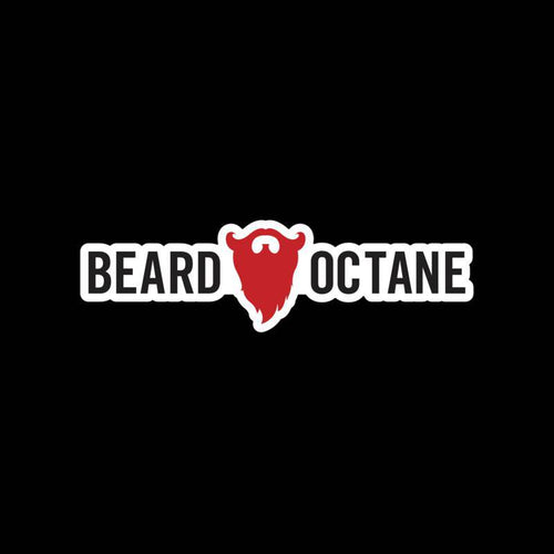 BEARD OCTANE LOGO STICKER - Beard Octane