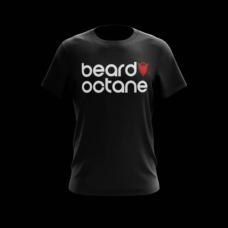 BEARD OCTANE RETRO T-SHIRT - Beard Octane