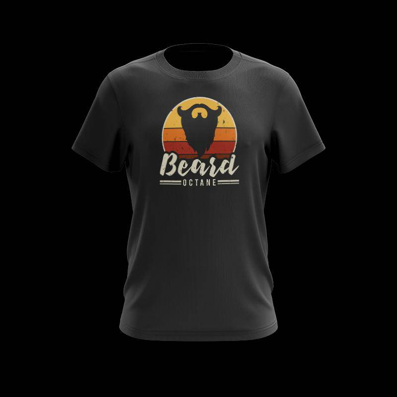BEARD OCTANE RISING T-SHIRT - Beard Octane