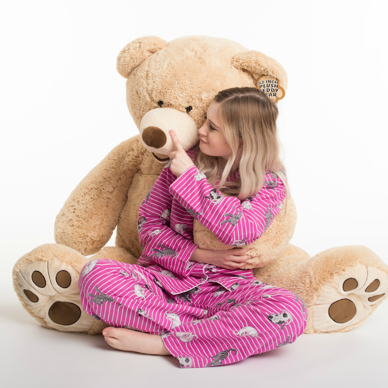 tuscan big bear love teddy 134cm (large giant bear)